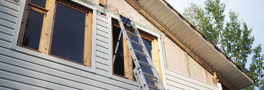 Isolation de façades et de toitures